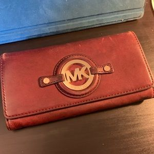 Michael Kors leather wallet